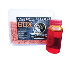 METHOD FEEDER BOX 3mm 1kg + zálivka - Halibut