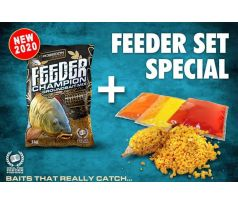 CHAMPION FEEDER EDITION + LIQUID 980g - Feeder Carp (ovoce)