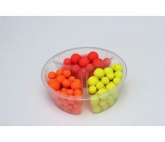 FLUO POP-UP Boilies MIX 12-15mm 90g - Monster crab